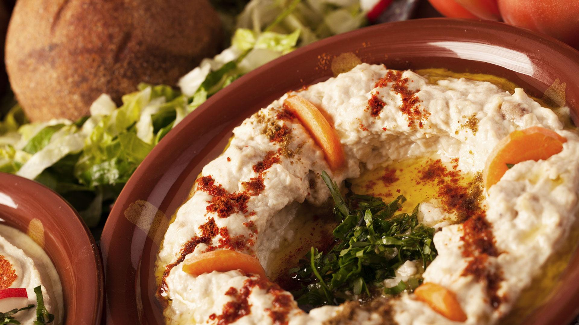 libanesischer Hummus